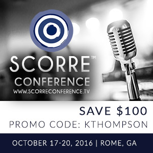 SCORRE Conference Fall 2016